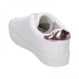 Sneakers - Anna hvit/rosa