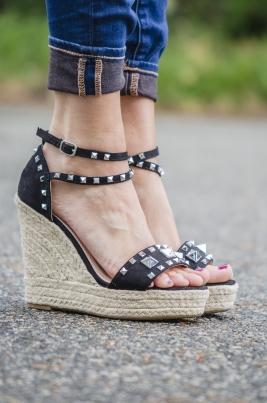 Sandaler - Madelen svart
