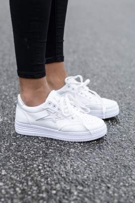 Sneakers - Kine hvit