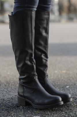 Støvletter - Cornelia svart