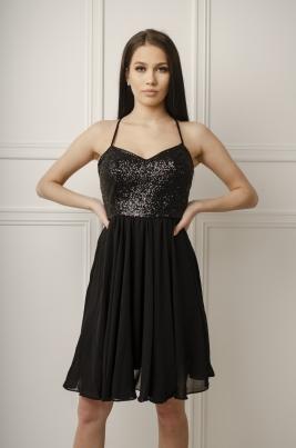 Kjole - Mona svart