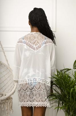 Kimono - Addison hvit