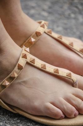 Sandaler - Irene camel