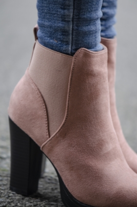 Boots - Guro rosa