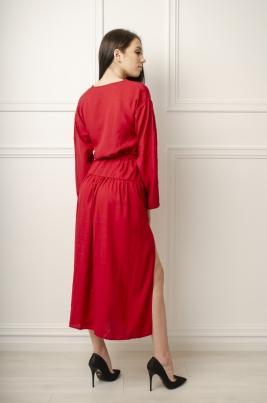 Kjole - Caltrina rød