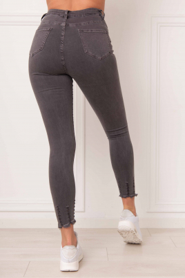 Jeans - Karen grå