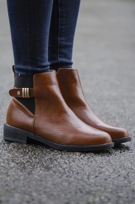 Boots - Miranda camel