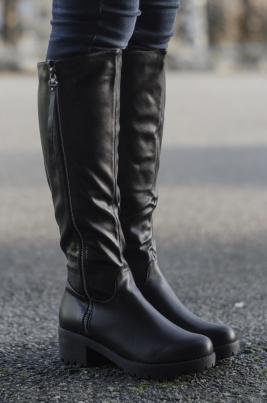 Støvletter - Eilin svart