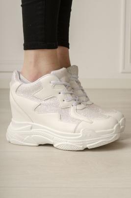 Sneakers - Jenna hvit