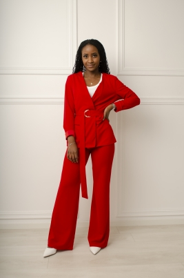 Sett - Carmen rød