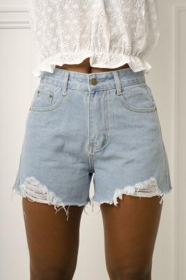 Shorts - Monica blå
