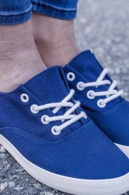 Sneakers - Louise mørkeblå