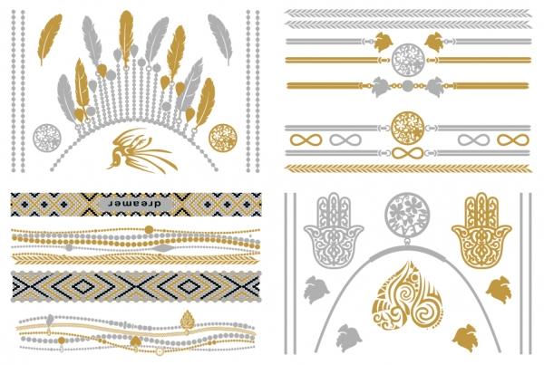 Metalliske tatoveringer - Eden
