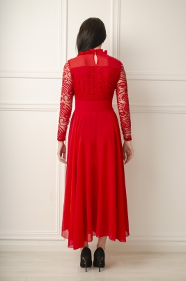 Kjole - Sanna rød