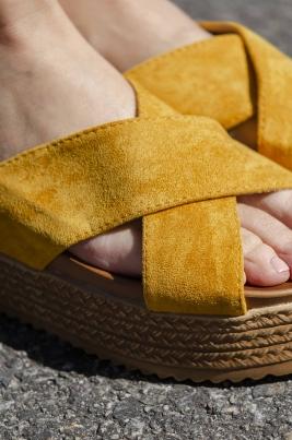 Sandaler - Cora gul