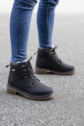 Boots - Amanda Svart Vinter