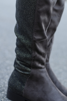 Støvletter - Eline grå