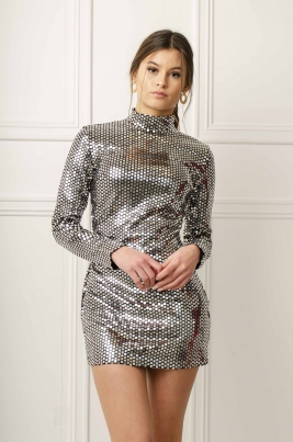 Kjole - Alexa sølv