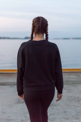 Hummel - HML STELLA Sweatshirt svart