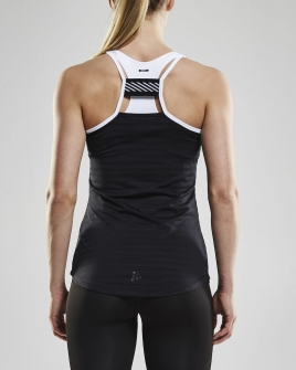 Craft - Breakaway Singlet W Black/White