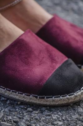 Espadrillos - Liv vinrød