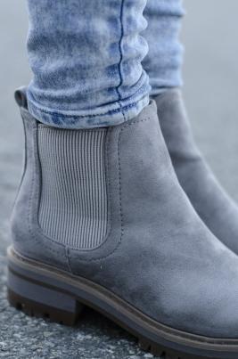Boots - Corinne grå