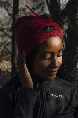 Craft - Urban knit Hat Burgunder