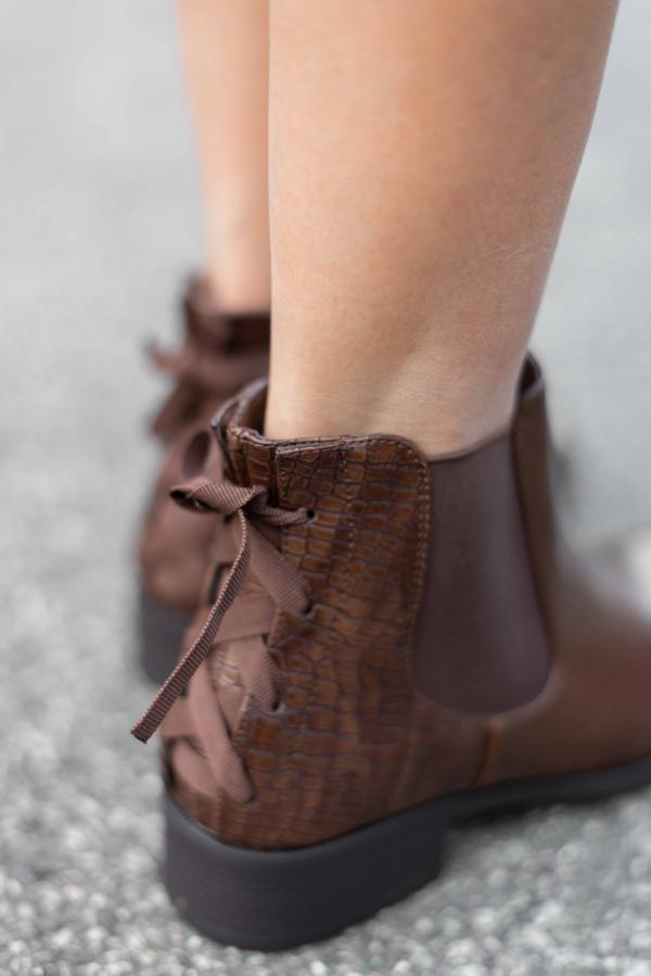 Boots - Line brun