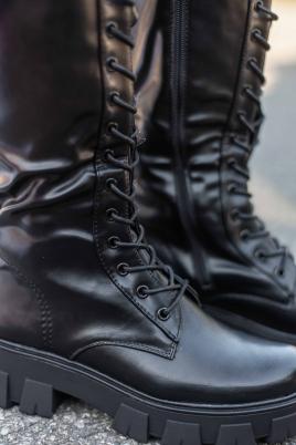 Støvletter - Nina svart