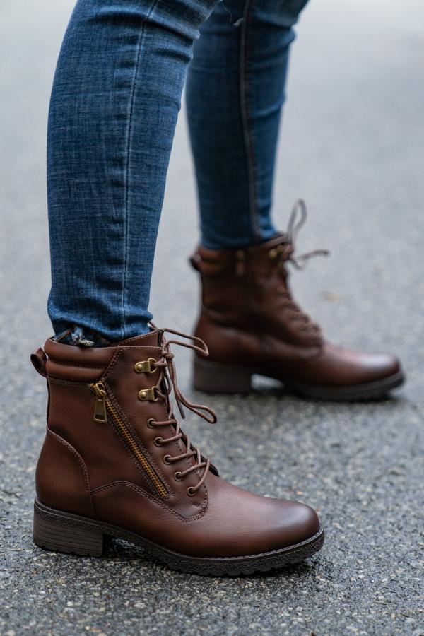 Boots - Freja brun