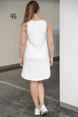 Hummel - HMLCLARA kjole hvit