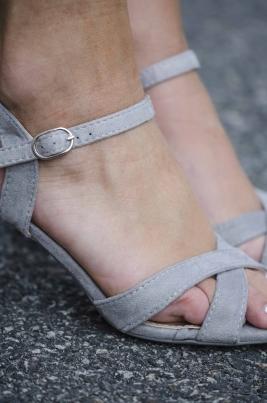 Sandaler - Andrea Grå