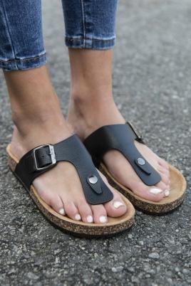 Sandaler - Violet svart