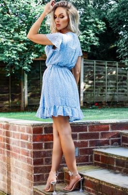 Kjole - Shary blå