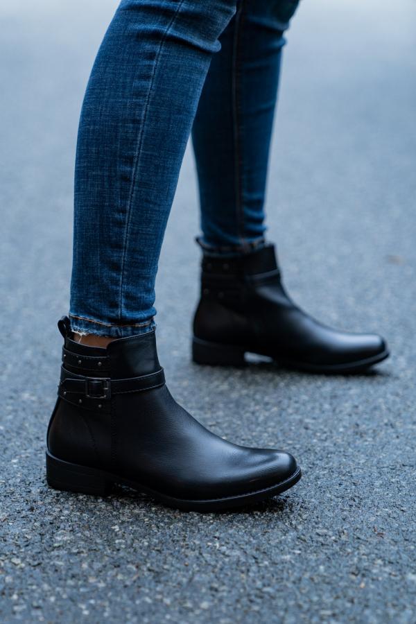 Boots - Agnes svart