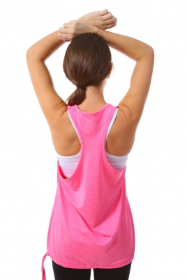 Treningstopp - MXDC Ladies Work Out Loose Tank rosa