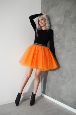 TuTu Skjørt - Celine oransje short