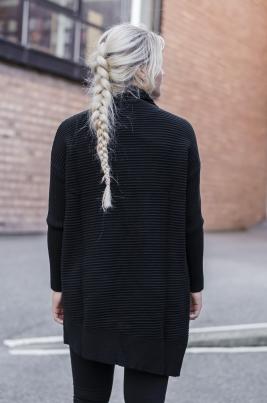 Genser - Sophia svart