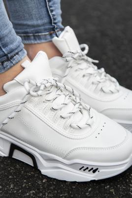 Sneakers - Ylva hvit