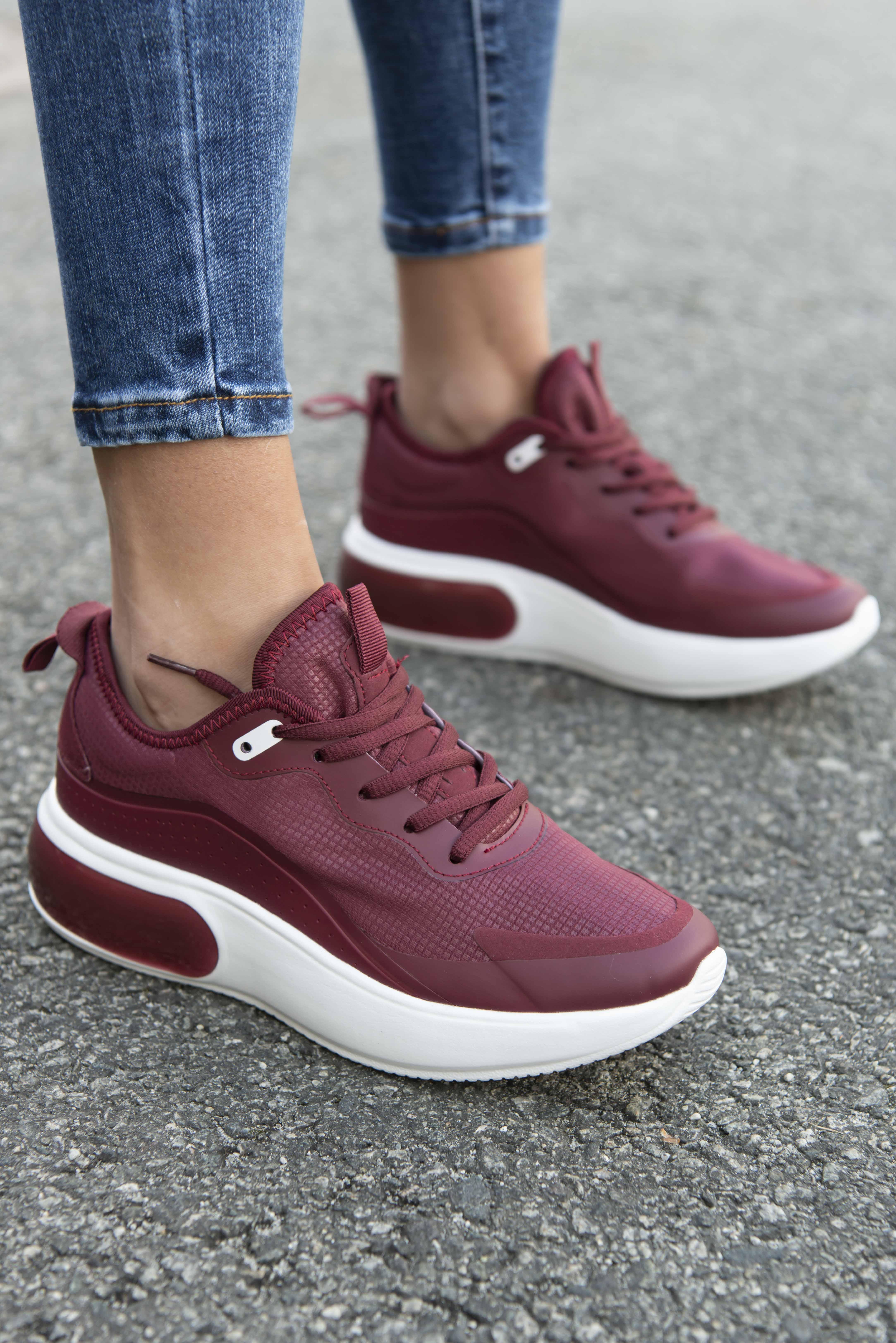 Motehus AS Sneakers Mille rød