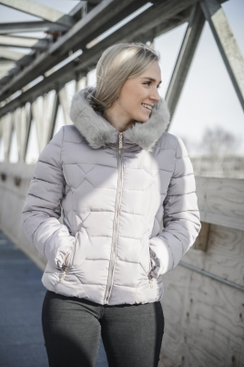 Jakke - North Exclusive Lilly Grå