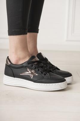 Sneakers - Kine svart