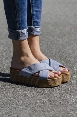 Sandaler - Cora blå