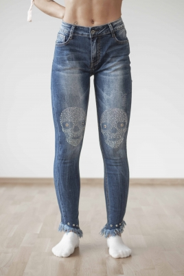 Jeans -  Hanna blå