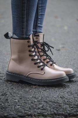 Boots - Silje beige