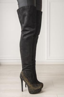 Støvletter - Roxy svart