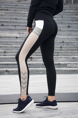 Hummel - HML Sharni Mid Waist Tights svart