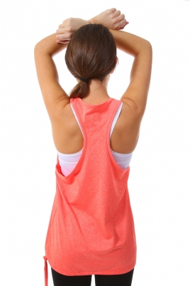 Treningstopp - MXDC Ladies Work Out Loose Tank korall