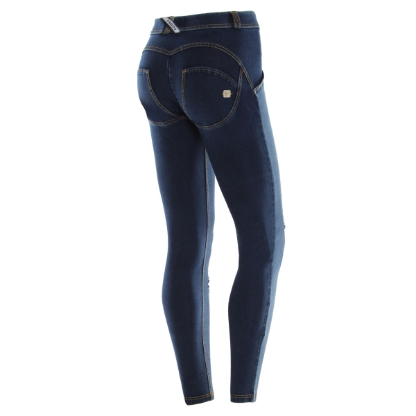 Jeans - Freddy WR.UP® Skinny Mid-Waist Denim Dark Rinse (J0Y)