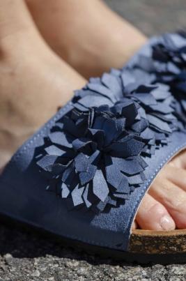 Sandaler - Caroline blå
